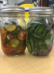 Pickles Made by students